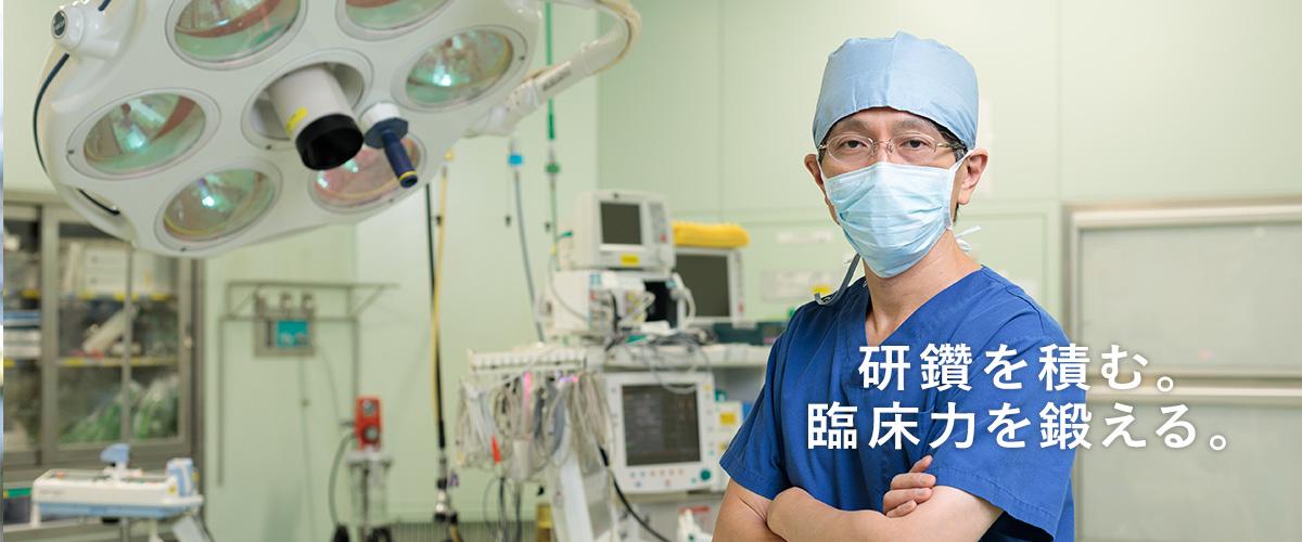 チーム医療の一員として活躍できる職場。