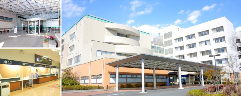 海老名総合病院外観