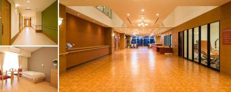 院内、廊下、病室